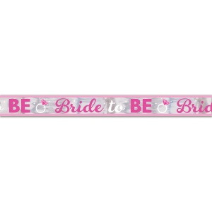 Amscan slinger Bride To Be 762 cm folie