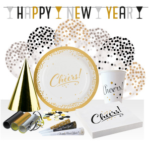 Amscan party set new year paper 68-piece