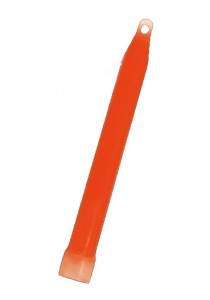 Amscan glowstick hanger ketting rood 15cm