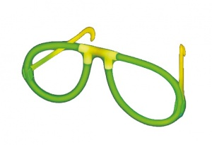Amscan luminescent glasses green 2 pcs