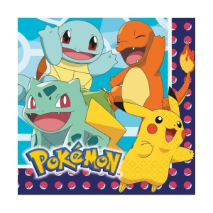 Amscan napkins Pokémon junior 33 x 33 cm 16 pieces