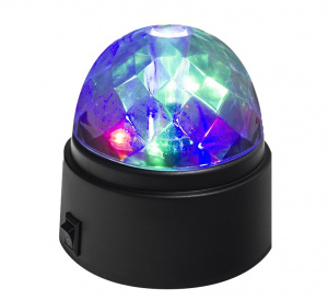 Balvi discolight junior 8.4 x 9.1 cm ABS green/purple/red