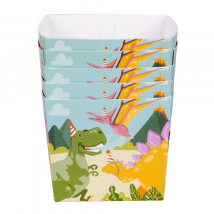 Boland party box dino junior 40 cl cardboard 6 pieces