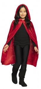 Boland children's cape Dawn junior 115 cm red