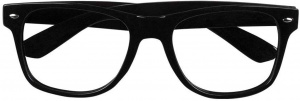 Boland party glasses Nerd without glasses 15 x 13 black