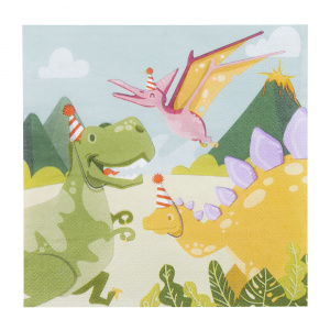Boland napkins dino junior 33 cm paper 12 pieces