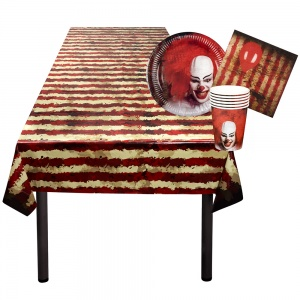 Boland table package Horrorclown 25-piece