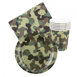 Boland table set Army 24-piece