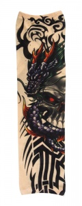 Boland tattoo sleeve dragon skull unisex one size