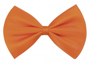 Boland bow tie Basic men 10 cm orange