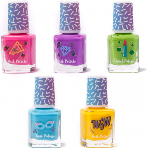 Create It! nail polish set with scent girls 7 cm 5-piece