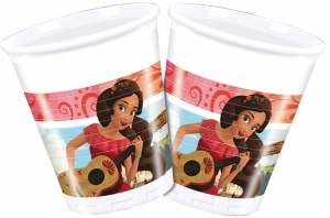 Disney feestbekers Elena of Avalor 200 ml 8 stuks