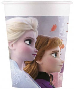 Disney Frozen II feestbekers 200 ml 8 stuks