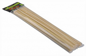 Eco-Import skewers 30 cm bamboo beige 100 pieces
