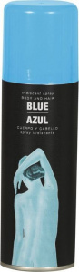 Fiestas Guirca bodypaint spray 100 ml blauw