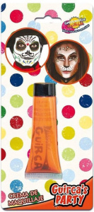 Fiestas Guirca make-up tube crème 20 ml oranje