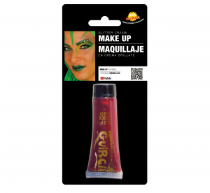 Fiestas Guirca make-up tube glitter 20 ml red