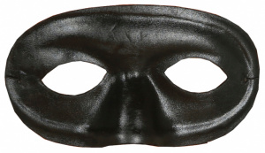 Fiestas Guirca mask Colombina polyester black one-size