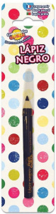 Fiestas Guirca make-up pencil junior 9,5 cm wood black