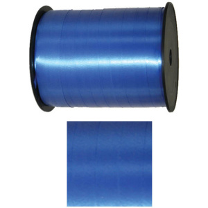 Folat feestlint 5 mm polyester blauw 500 meter