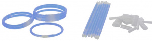 Free and Easy glowsticks neon blue 82-piece