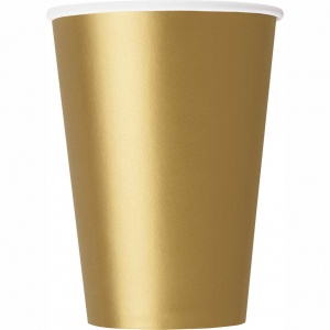 Haza Original party cups gold 26 cl 14 pieces