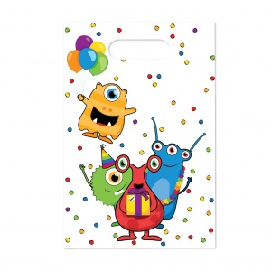 Haza Original party bags monster party 6 pieces
