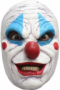 Haza Original gezichtsmasker Scary Clown unisex