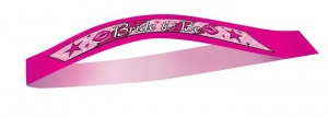Haza Original sjerp Bride To Be dames 120 x 8 cm roze
