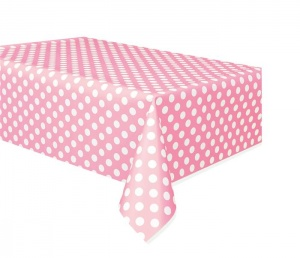 Haza Original tablecloth dotted pink/white 137 x 274 cm