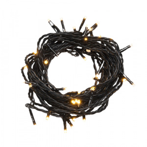 Konstsmide light cord amber led 34.93 m ABS black 500 lights