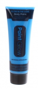 LG-Imports glow in the dark body paint blauw 14,2 ml