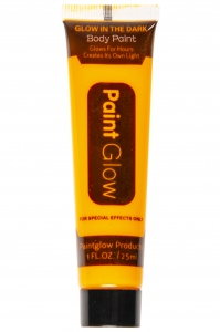 LG-Imports glow in the dark body paint neon orange 25 ml