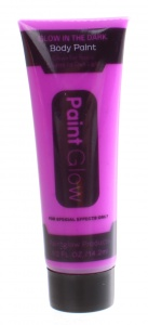 LG-Imports glow in the dark body paint purple 14,2 ml