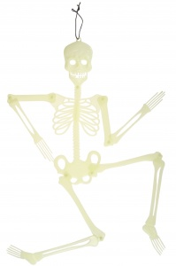LG-Imports glow in the dark skeleton decoration 90 x 19 cm