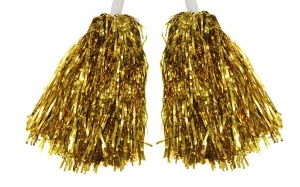 LG-Imports pompons cheerleader gold