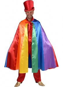 Magic Design verkleedcape Rainbow polyester