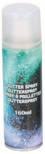 Party Time glitterspray junior 160 ml aluminium zilver