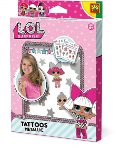 SES Creative L.O.L. surprise tattoo set