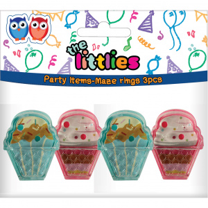 The Littlies rings junior 4 pieces