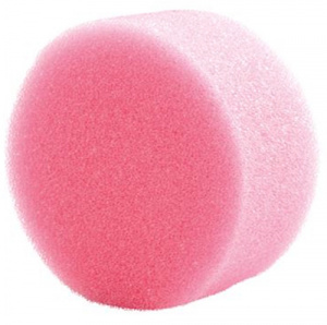 Witbaard make-up sponge round 6 x 3 cm foam pink