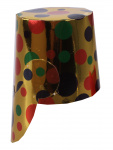 Amscan feesthoed pot mini confetti junior 10 cm papier