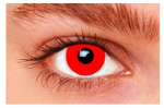 Witbaard contactlenzen Red Out siliconen rood